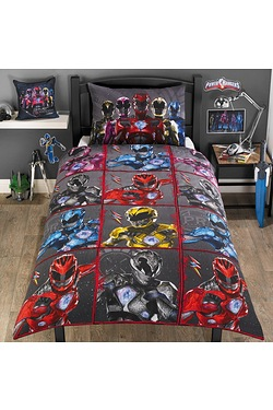 Power Rangers Single Duvet Set