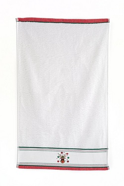 Rudolph Embroided Hand Towel