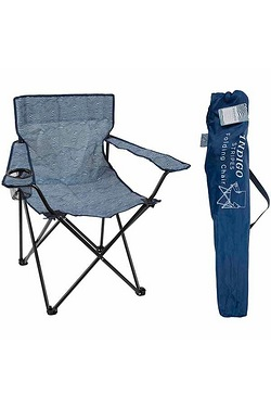 Summit Striped Folding Chair