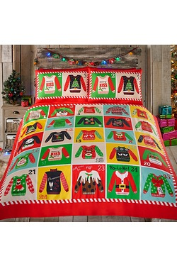 Christmas Jumper Duvet Set