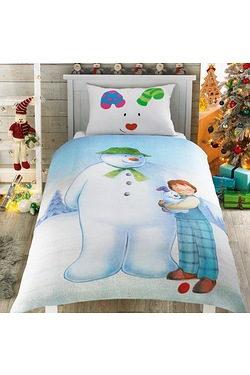 Snowman Single Duvet Set