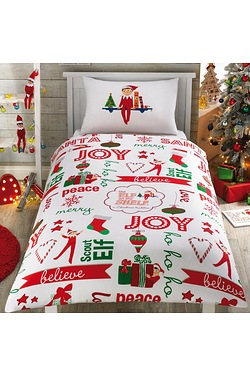 The Elf On The Shelf Duvet Set