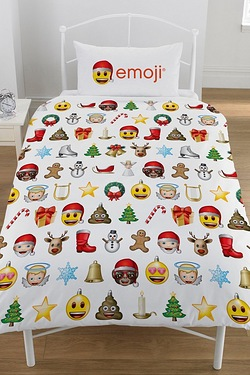Emoji Christmas Duvet Set