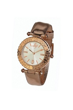 Ladies Rose Gold Lipsy Watch