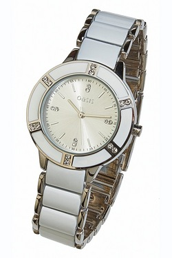 Ladies Oasis White Watch
