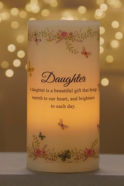 Light Up LED Candle - Daughter