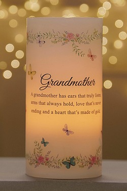 Light Up LED Candle - Grandmother