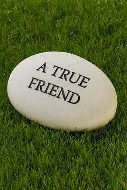 Thoughts Of You Pebble - A True Friend