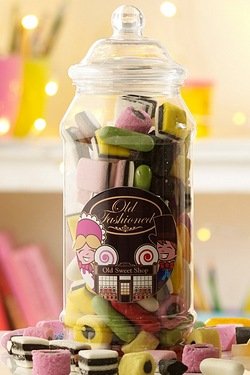Old Fashioned Sweet Jar - Liquorice