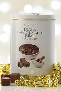 Fudge Tin - Belgian Dark Chocolate