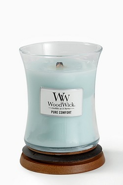 Woodwick Medium Candle - Pure Comfort