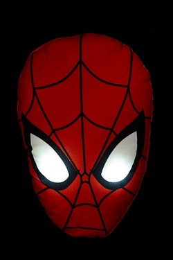 Character Light-Up Cushion - Spider...