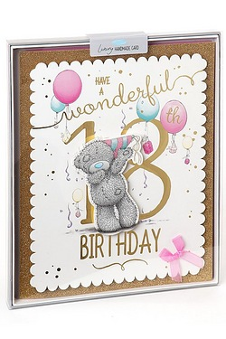 Me To You 18th Birthday Boxed Card