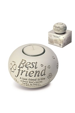 Said with Sentiment Tea Light - Best Friend