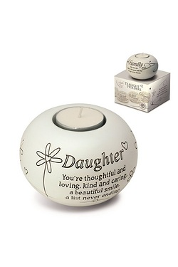 Said with Sentiment Tea Light - Daughter