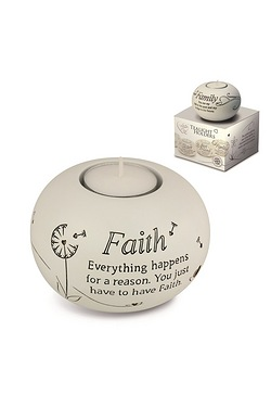 Said with Sentiment Tea Light - Faith