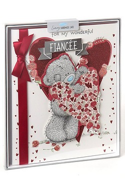Me To You Fiancée Birthday Boxed Card