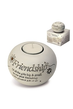 Said with Sentiment Tea Light - Friendship