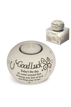 Said with Sentiment Tea Light - Good Luck