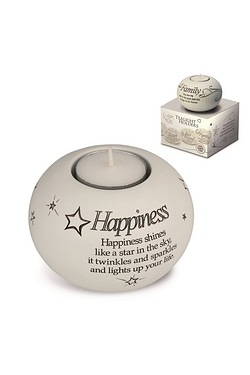 Said with Sentiment Tea Light - Happiness