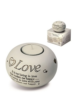 Said with Sentiment Tea Light - Love