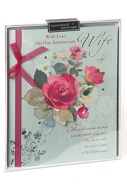 Anniversary Wife Boxed Card