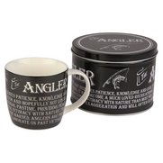 Mugs in Tins Gift Set - Angler