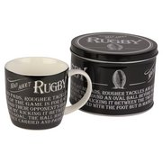 Mugs in Tins Gift Set - Rugby