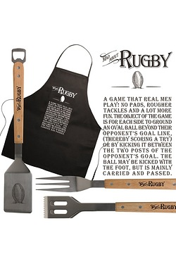 BBQ Set - Rugby