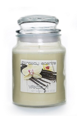 Far Away Scents Large Jar Vanilla