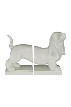 Set of 2 Dog Bookends