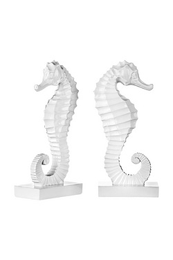 Set of Seahorse Bookends