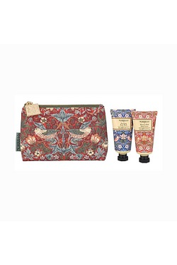 Morris & Co Strawberry Thief Bath a...