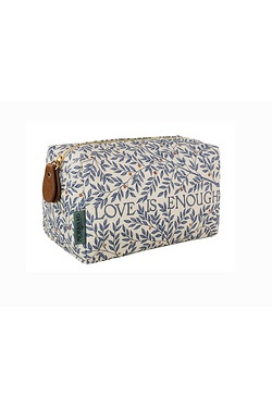 Morris & Co Medium Linen Cosmetic Bag