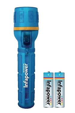 Infapower Splashproof Rubber Torch
