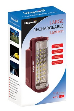Infapower 60 LED Rechargeable Lantern