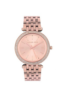Ladies Rose Gold Michael Kors Watch