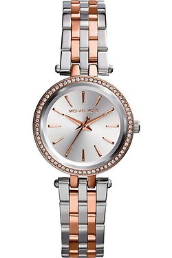 Ladies Two-Tone Michael Kors Watch