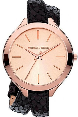 Ladies Black Strap Michael Kors Watch