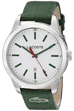 Gents Green Lacoste Watch