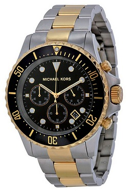Gents Two-Tone Michael Kors Watch