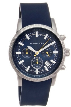 Gents Blue Michael Kors Watch