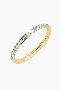 9ct Rose Gold Eternity Ring