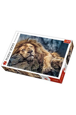 1000 Piece Sleeping Lion