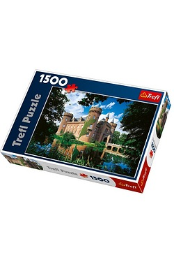 1500 Piece Moyland Castle Germany