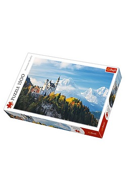 1500 Piece Neuschwanstein Castle Ba...