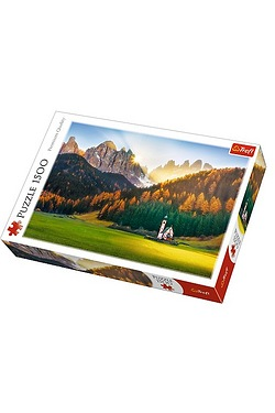 1500 Piece Church In the Dolomites