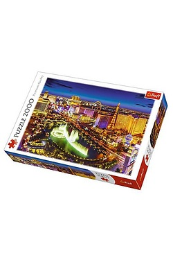 2000 Piece Night Time in Las Vegas