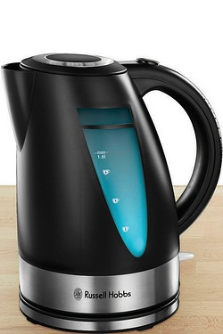 Russell Hobbs Ebony Matt Black Kettle