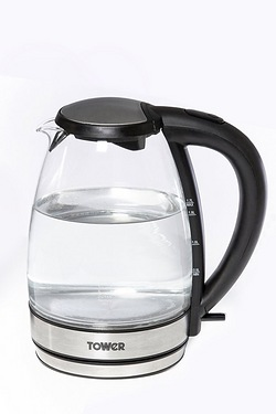 Tower 1.7 Litre Glass Kettle